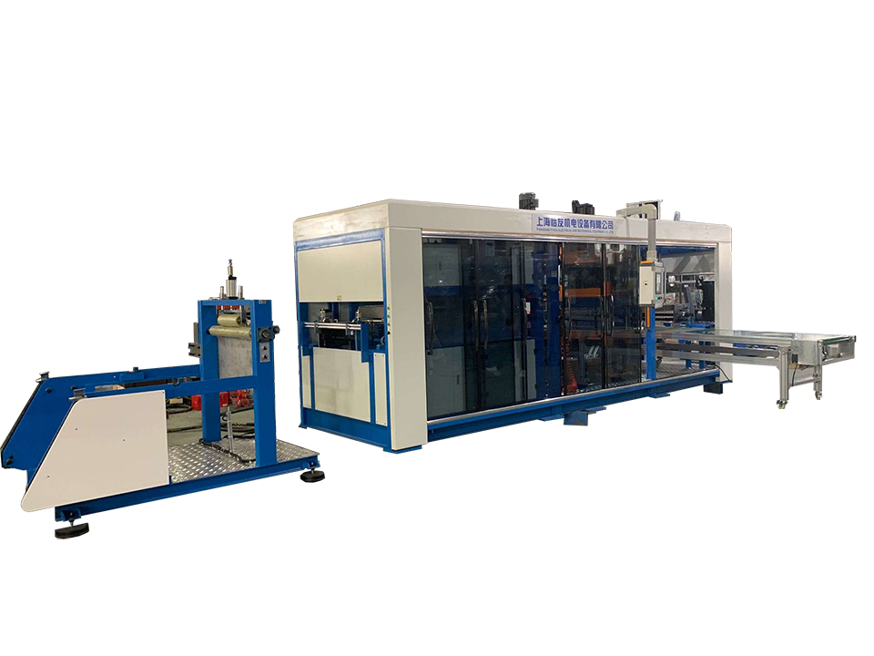 HW-710 automatic positive and negative pressure thermoforming