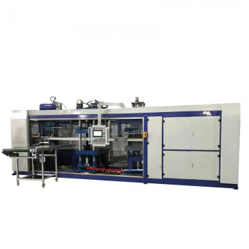HW-7072 Fully automatic thermoforming negative pressure integ