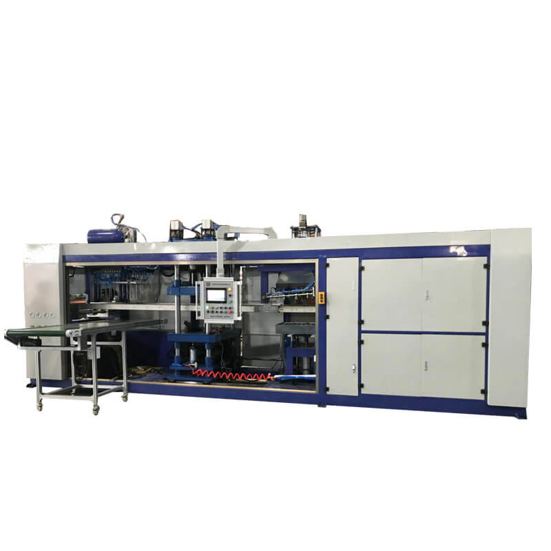 HW-7072 Fully automatic thermoforming negative pressure integrated machine