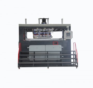 HW-2000 Automatic PP breakfast car baffle blister machine