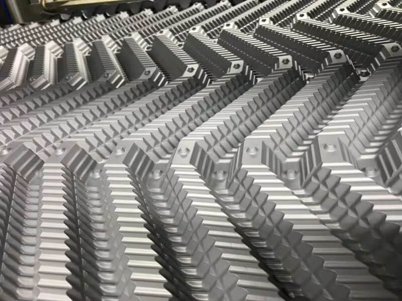 Thermoforming aluminum mold
