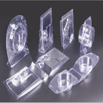 Anti-static and fold-resistant reinforced electronic product blister packaging