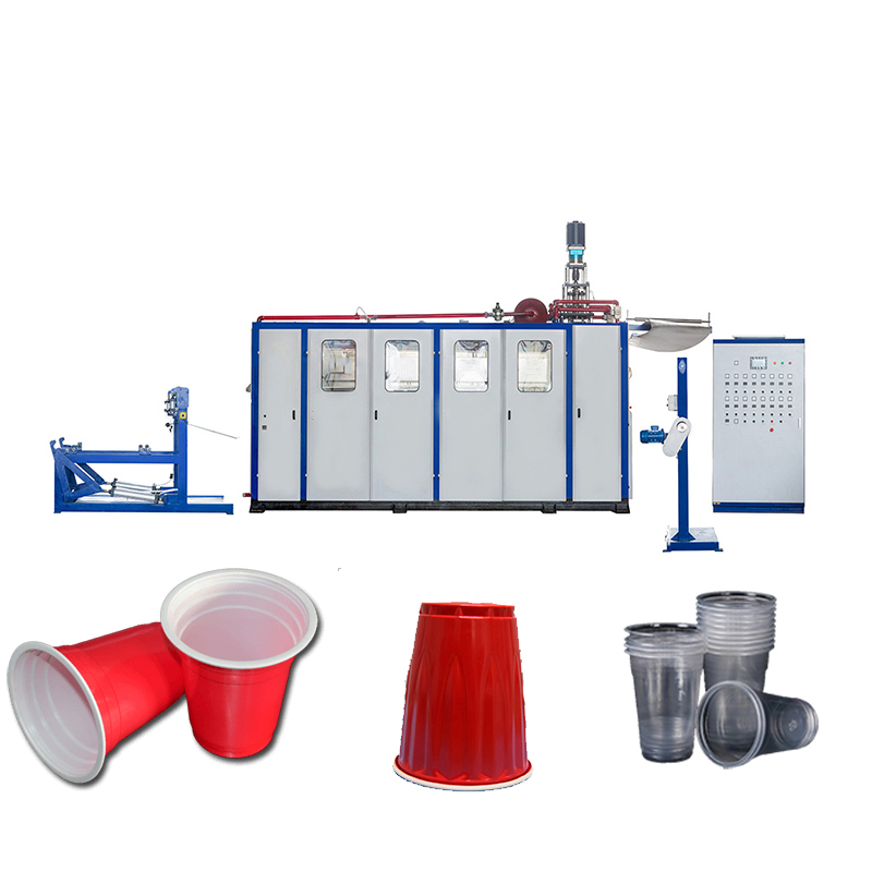 Application of Servo System in Plastic Cup Making Machine