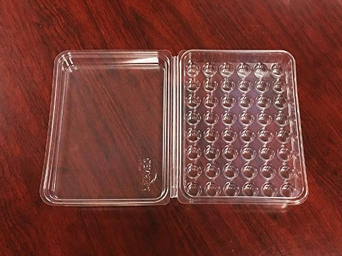 Material application of medical blister packaging box